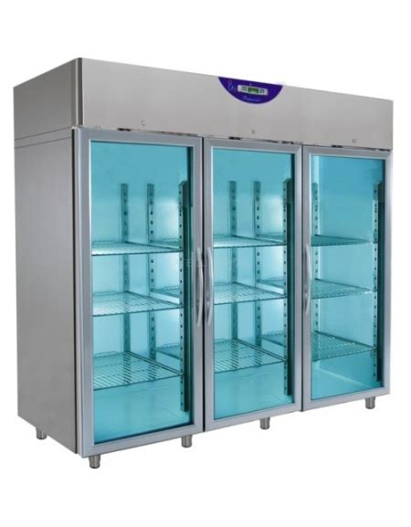 armadio congelatore armadio congelatore inox verticale 3 porte in vetro