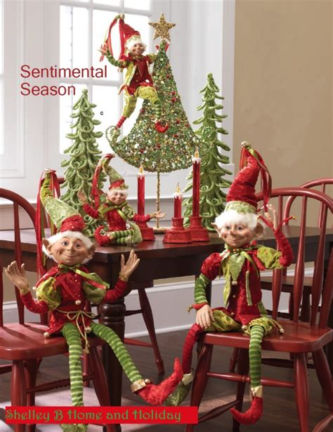 Decorating Elves by Conga Line Tabletop Decoration