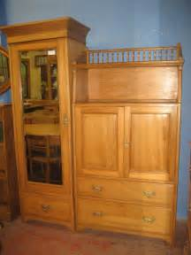 Wardrobe Combinations by Edwardian Satin Wood Combination Wardrobe Antiques Atlas