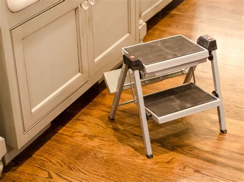 Toe Kick Pull Out Step Stool by Kitchen Remodeling Basics Diy
