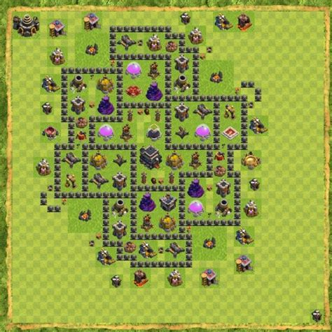 th9 hybrid bases best and strongest th9 base layouts