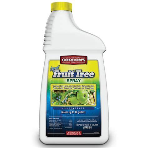Tree Spray - fruit tree spray quart agri supply 28001
