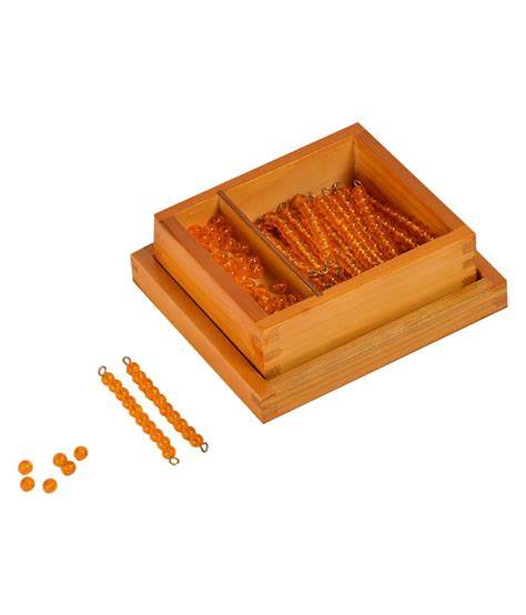 kidken montessori bead material for seguin s ten board