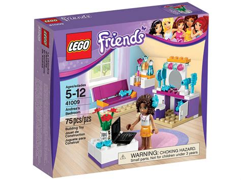 lego friends andrea s bedroom brick friends lego 41009 andrea s bedroom