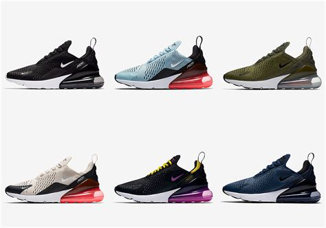 Nike Air 270 nike air max 270 six colorways available now sneakernews