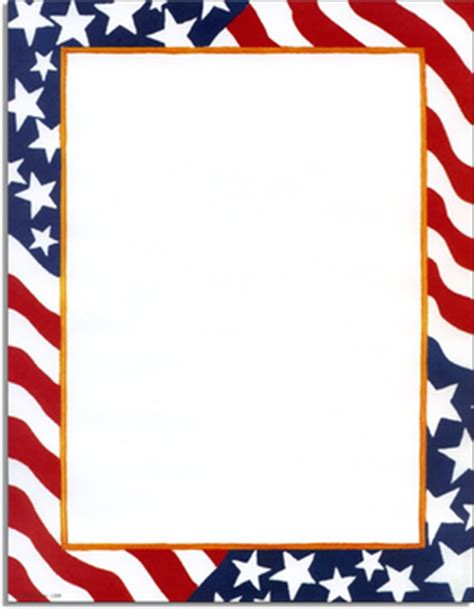 printable american flag 8 5 x 11 stationery notecards letterhead stationery papers