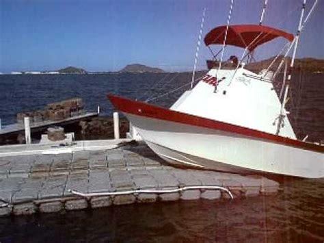 hawaiian fishing boat names 24 yellowfin kiani docking on a versadock floating dock