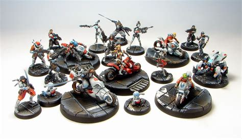 how to paint infinity miniatures tom schadle miniatures complete infinity army painting