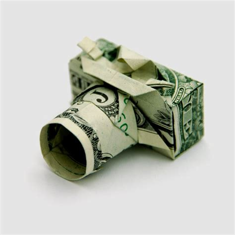 Origami Made With Money - origami con un billete taringa