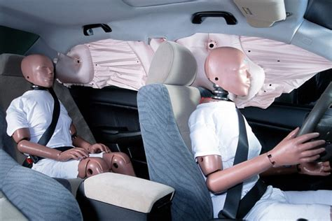 side curtain airbags nhtsa investigating side airbag problems