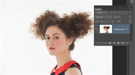 hair selection tutorial photoshop cs3 how to cut out hair in photoshop creative bloq