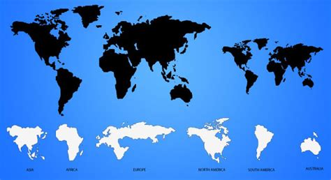 world map ai 20 more world map source files psd eps ai svg png 推酷