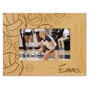 personalized volleyball picture frame paperstyle