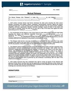 release waiver template doc 7201024 release of liability template free