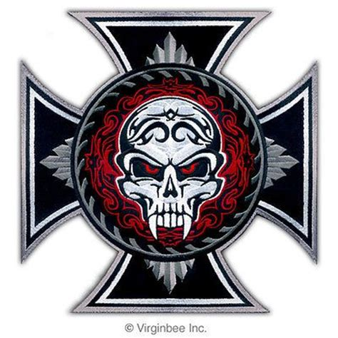 iron cross skull tattoo 17 best images about patches on occult