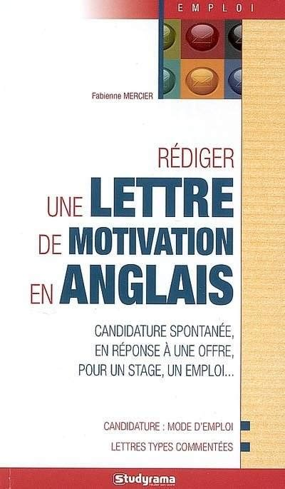 Lettre De Motivation Anglais Université R 195 謦 194 169 Diger Une Lettre