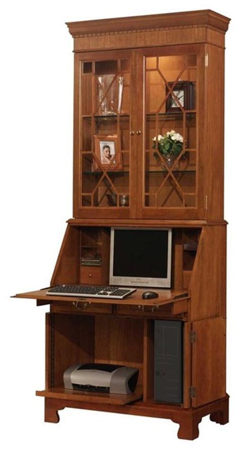 computer secretary desk home office computer secretary desk with hutch ancestor