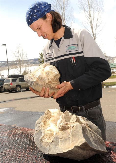 how to find geodes in your backyard locals find geodes by searching steamboat s own backyard steamboattoday com