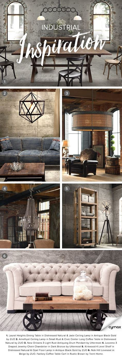 industrial chic home decor best 25 industrial chic decor ideas on