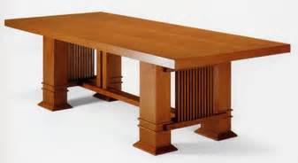 Rectangular Dining Room Table shop frank lloyd wright allen table rectangular 1917 for
