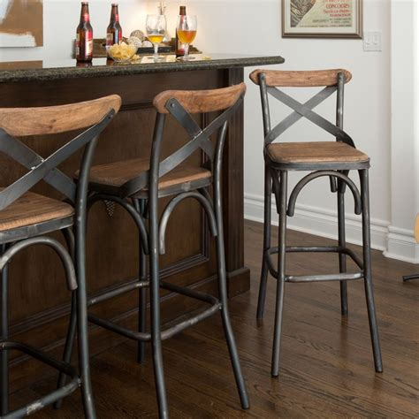 White Cottage Style Bar Stools by Powell Stool Cottage Style Stools And Metals