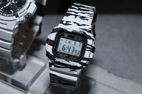 G Shock Gw 1135 Black White g shock white and black series tiger stripes white