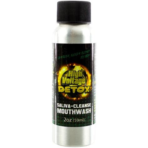 Detox Pills For Saliva Test by High Voltage Saliva Cleanse Detox Mouthwash