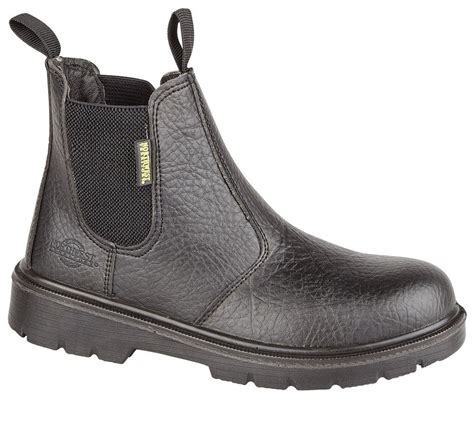chelsea work boots for mens dealer slip on chelsea safety work boots steel toe