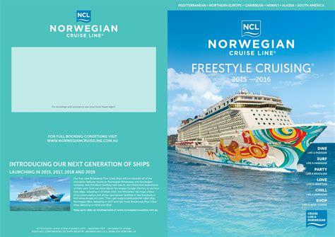 norwegian cruise brochure ncl brochure 2015 16 by cfc križarjenja issuu