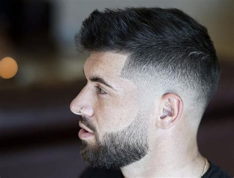 hairstyles rectangular face fade haircut beard styles and cuts 2017 new trends ideas to style beard