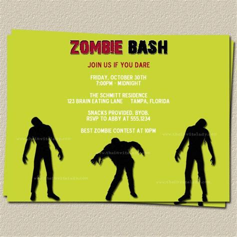printable zombie birthday invitations 14 best girl on fire cotumes images on pinterest the