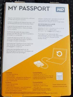 External Disk Kuantan wts wd my passport 2tb external harddisk promotion