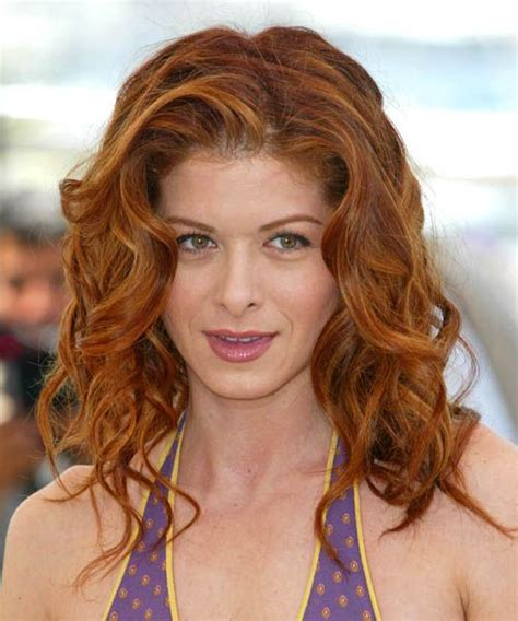 debra messing hair color debra messing wavy formal hairstyle debra messing