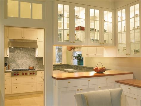 see thru kitchen cabinets for a light and bright kitchen