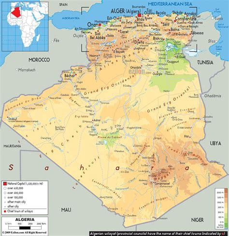 map of algeria cities algiers algeria pictures citiestips