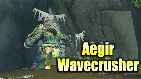 Quest Danger wow legion world quest danger aegir wavecrusher