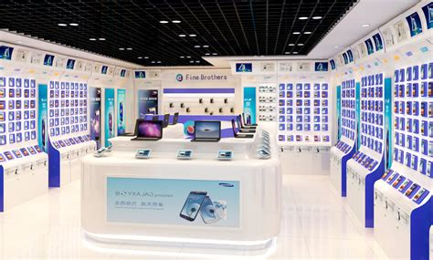 mobile phone shop electronic computer mobile phone shop interior design