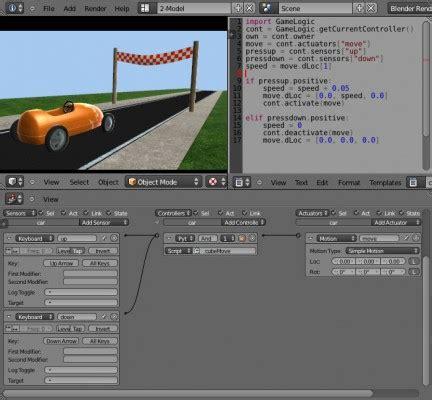 tutorial blender python python scripting for the game engine blendernation