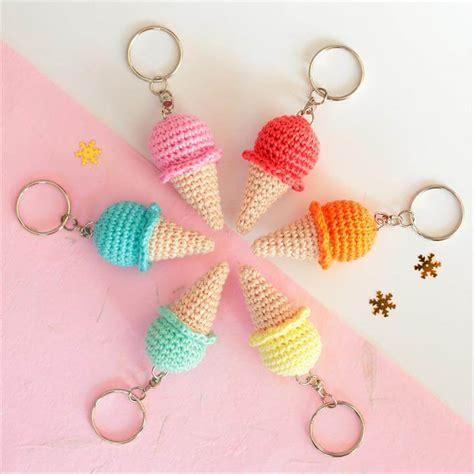 cute key pattern 62 easy handmade fun crochet pattern keychains diy to make