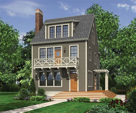 small three story house narrow lot house plans on pinterest