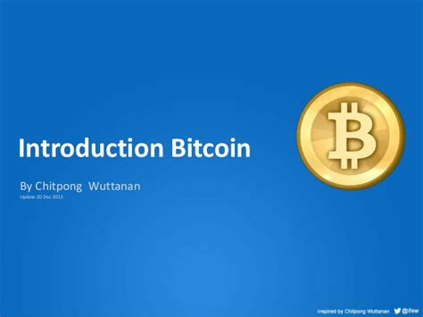 bitcoin tutorial ppt introduction bitcoin