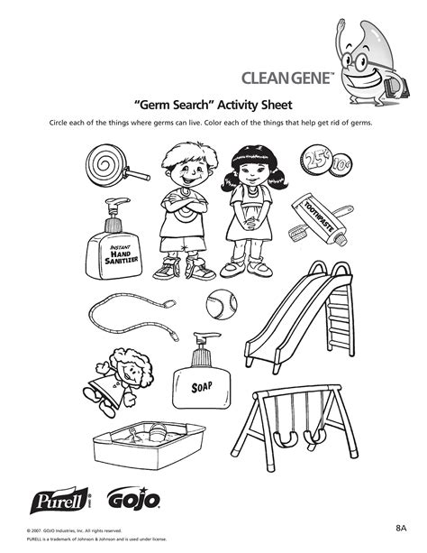 preschool germ coloring pages free coloring pages of handwashing and germs