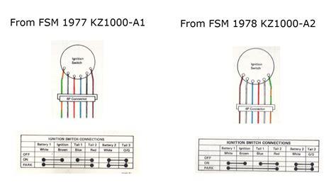77 kz1000 alternator wiring diagram alternator