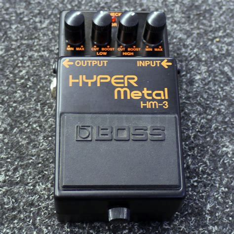 Hm Shopping Via Witchery And Voodoo Or Semacode by Hm 3 Hyper Metal Fx Pedal 2nd Rich Tone
