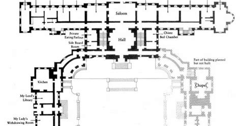 waddesdon manor floor plan waddesdon manor floor plan detail of ground floor plan of