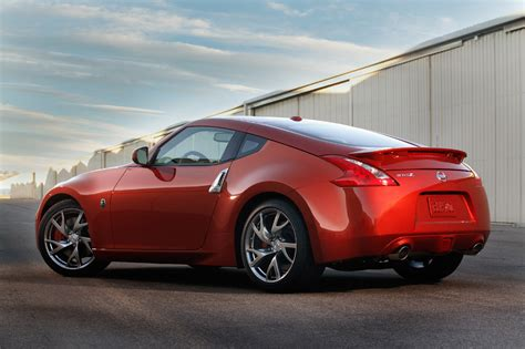 red nissan sports car 2013 nissan 370z gets a few subtle changes with same