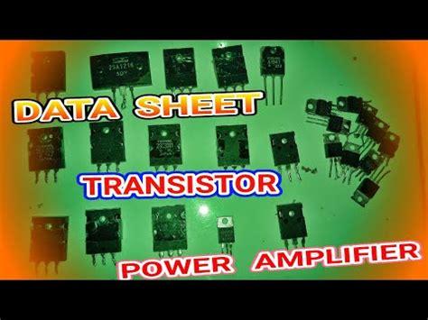 transistor untuk toa transistor untuk lifier toa 28 images cara modifikasi power lifier toa untuk mushola dan