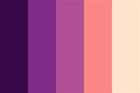sunset color palette sweet sunset color palette