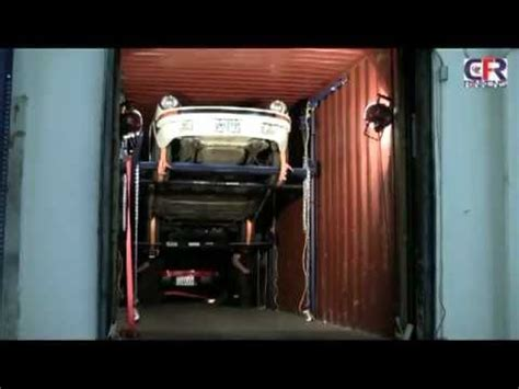 how to load 4 cars into 1 container youtube