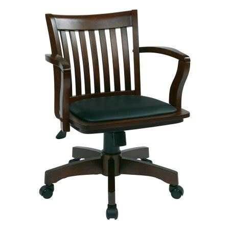 oak office chairs with casters wooden office chairs with casters
